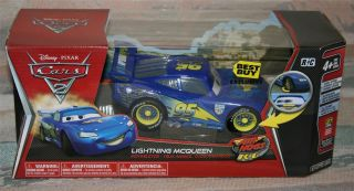 Disney Pixar Cars 2 Lightning McQueen Best Buy Exclusive Air Hogs RC