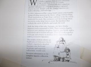 Alan Johnson Framed Signed Waercolor Waiing for he Mail in