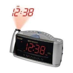 CEILING WALL PROJECTOR PROJECTION SMARTSET DUAL ALARM CLOCK RADIO