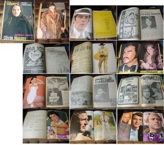 Olivia Hussey Thai Magazine 75 Elizabeth Taylor Barbra Streisand Bruce