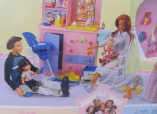 Happy Family Midge Hubby Barbie Alan Black Shoes 1st