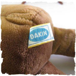 vintage 1985 dakin brown tan teddy bear cute this adorable teddy bear