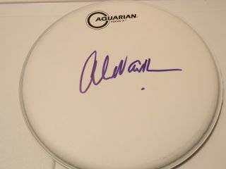 Alex Van Halen Signed Autographed 10 Drum Head