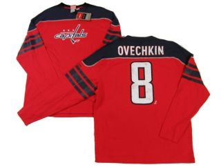 Alexander Ovechkin Shootout Long Sleeve Jersey T Shirt