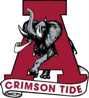 Alabama Crimson Tide Digital Printed Graphic Vinyl Decal