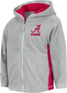 Alabama Crimson Tide Grey Toddler Camp Full Zip Hooded Sweatshirt