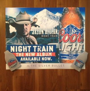 Jason Aldean Night Train Vinyl Poster More