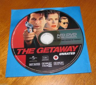 The Getaway Unrated HD DVD  Alec Baldwin & Kim Basinger