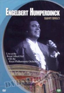 Engelbert Humperdinck Live at Royal Albert Hall DVD New