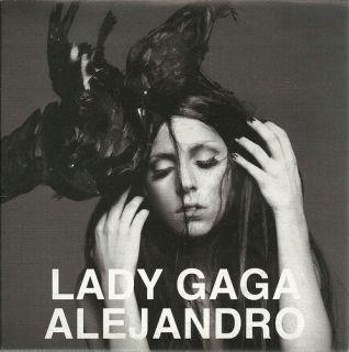 Alejandro Album Version in RARE Promo CD Lady Gaga