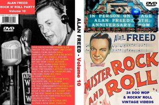 Alan Freed Rock N Party 24 Doo Wop Videos Vol 10 DVD