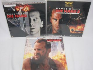 Lot Die Hard Collection Bruce Willis Alan Rickman Jeremy Irons