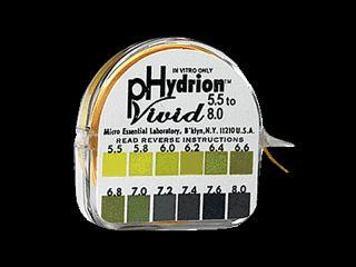 Ph Test Strips Tape Dispener Urine Saliva Alkaline