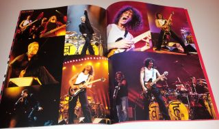Van Halen   1998 Van Halen 3   Tour Program   Eddie, Alex, Gary, Mike