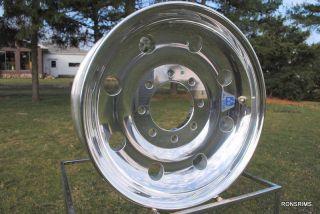 Alcoa Trailer 17 5 x 6 75 HD Forged Wheel 665401 Lug Pilot Tandem