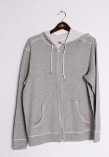 Tommy Bahama LODGITUDE REVERSIBLE HOODIE Gray Full Zip Jacket TR21896
