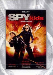 spy kids trilogy spy kids 1 2 3 triple fe new dvd original title spy