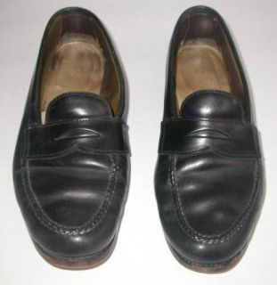 Alden 987 Shell Cordovan Black Mens Loafers Shoes Sz 10 C S