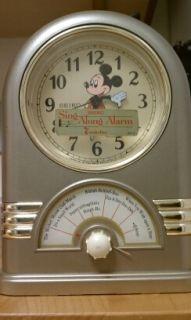 Disney Vintage Musical Alarm Clock Seiko