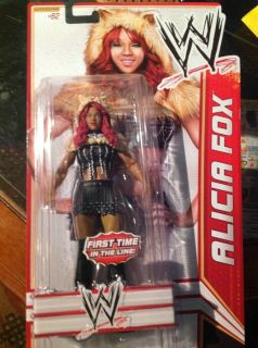 Alicia Fox WWE Action Figure Mattel Superstar 62