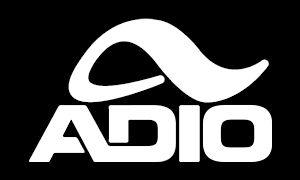 20in Big Adio Logo Skateboarding Shoes Decal Sticker