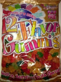 Albanese Gummi Bears 5 lb Bag 12 Flavors
