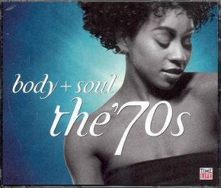 Time Life Body Soul The 70s Collection 36 Classic Slow Jams 3 CD Box
