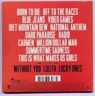 Lana Del Rey Born to Die Deluxe Mexican Edition CD