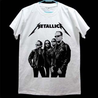 Enter Sandman Metallica Black Album Art T Shirt Size L