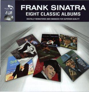 Frank Sinatra Eight Classic Albums 98 Tracks New SEALED 4 CD Box Set