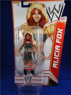 WWE ALICIA FOX series 23 action figure 62 first time in the line BRAND
