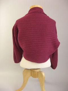 Womens Aline Ann Klein Shrug Sweater Size M Purple Pink Size M Medium