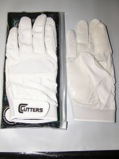 Endurance 018E Adult Baseball Softball Batting Gloves All White