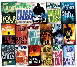 Alex Cross Series Collection James Patterson 17 Books Set Pack Cross