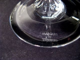 TWO WATERFORD MARQUIS ALLEGRA PLATINUM CHAMPAGNE FLUTE GLASSES
