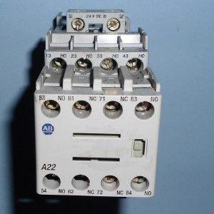 Allen Bradley 25A 24V Coil Contactor 100 CF400DJ 100 F