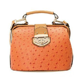 Vintage Women Dots Tote Handbag Shoulder Messenger Bag Black、Khaki