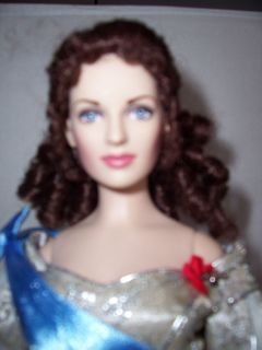 Franklin Mint Russian Czarina Alexandra Princess Doll Dressed w Stand