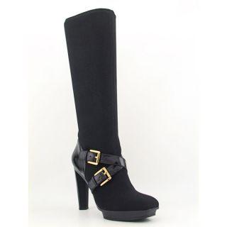 Michael Kors Allister Boot Womens SZ 10 Black Boots Knee Shoes