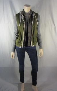 TERRA NOVA SKYE ALLISON MILLER SCREEN WORN HOODIE SHIRT TOP & JEANS EP