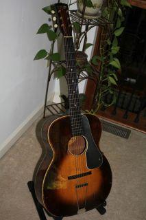 1930s Washburn 5255 vintage guitar Tonk Bros RARE EXC PLAYER w Martin