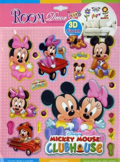 Minnie Mouse Children Wall Decal Decor Stickers Top Fashion