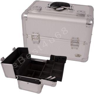 Artist Cosmetic Train Beauty Case Aluminum AB8 CU3 Black Box