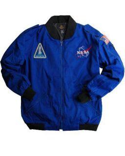 Alpha Industries NASA Astronaut Flight Jacket Blue