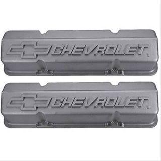 GM Performance Valve Covers Tall Height Cast Aluminum Chevrolet Logo