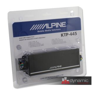 Alpine KTP445 Car Audio Power Pack Amp 180 Watt Amplifier KTP 445