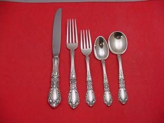 Prince Eugene by Alvin Sterling Silver Dinner Flatware Set Service 27