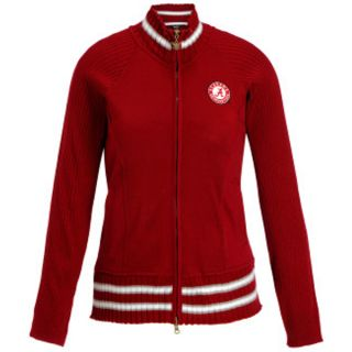 Crimson Tide NCAA Womens Sweater Jacket Touch by Alyssa Milano