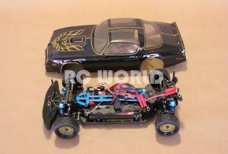 10 RC Pontiac Trans Am Smokey Bandit Car Brushless RTR New 40 MPH