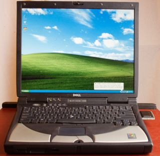 DELL 8200 INSPIRON NOTEBOOK LAPTOP COMPUTER WINDOWS XP MICROSOFT
